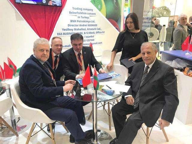 Partnership: Belarus and Turkey! / 12 March 2019 - Полоцк-Стекловолокно